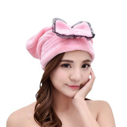 Picture of Microfiber Shower Cap Pink