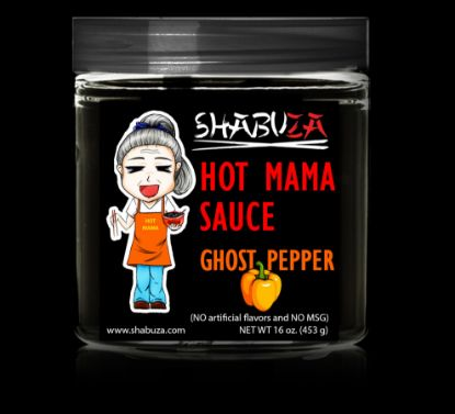 Picture of Ghost Pepper Hot Mama Sauce